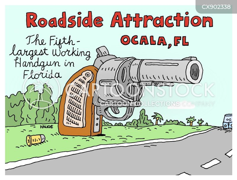 roadside attraction cartoon