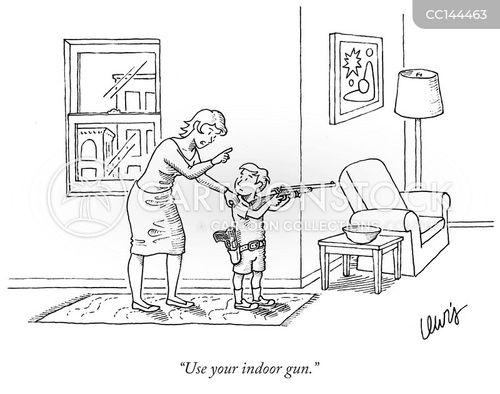 indoor voice cartoon