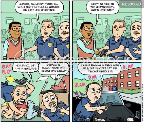 gun lobby cartoon
