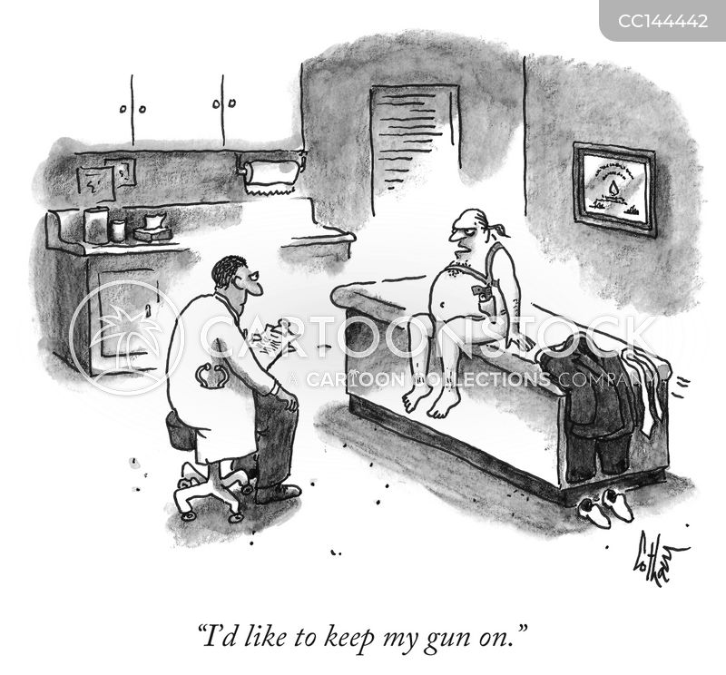 gun fanatics cartoon