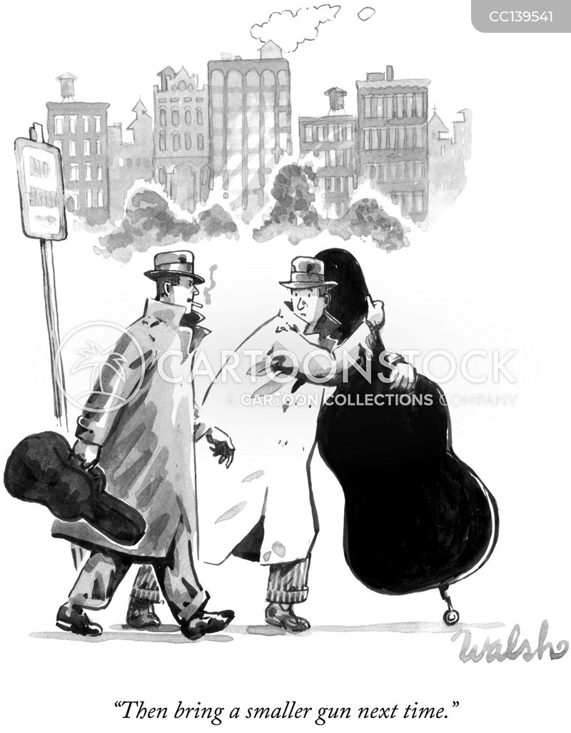instrument case cartoon