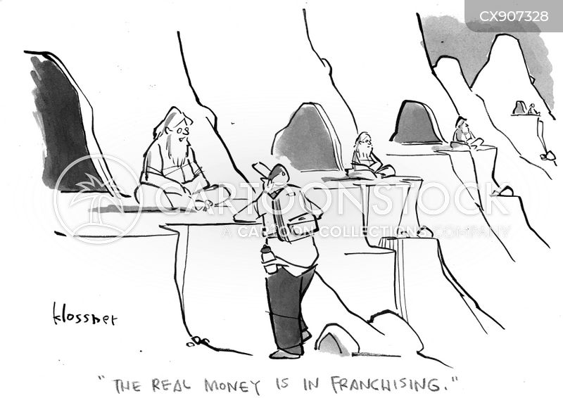 mountaineer cartoon