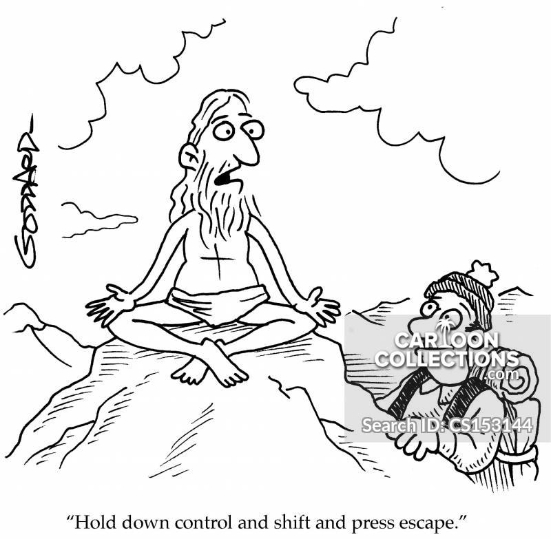 control shift cartoon