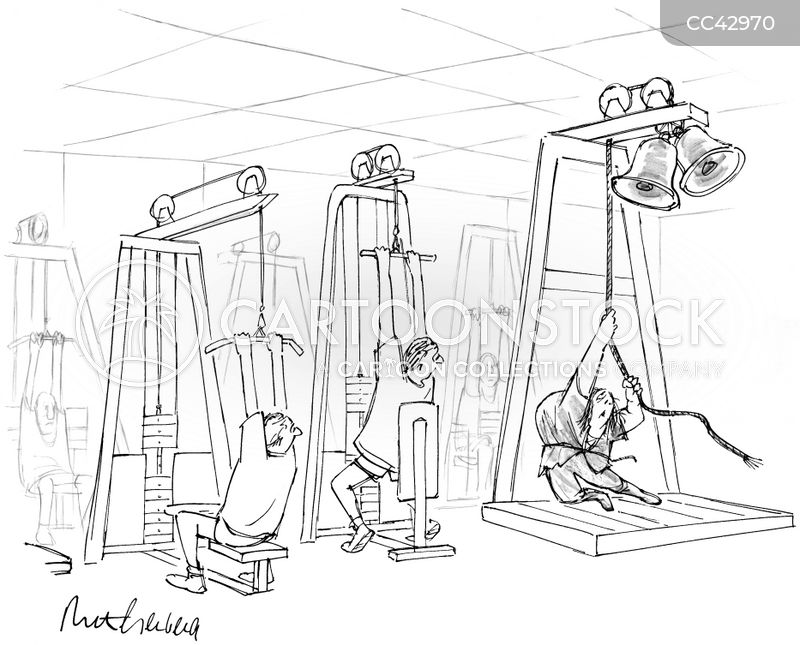 weights cartoon