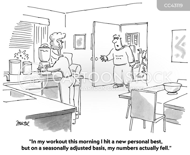 health club cartoon