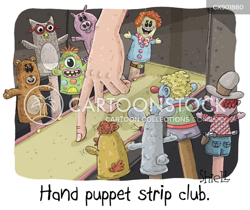 puppeteers cartoon