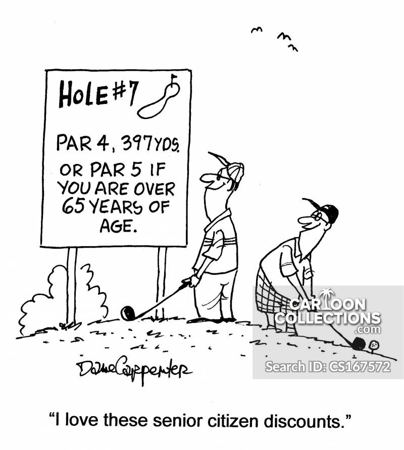 golf hole cartoon