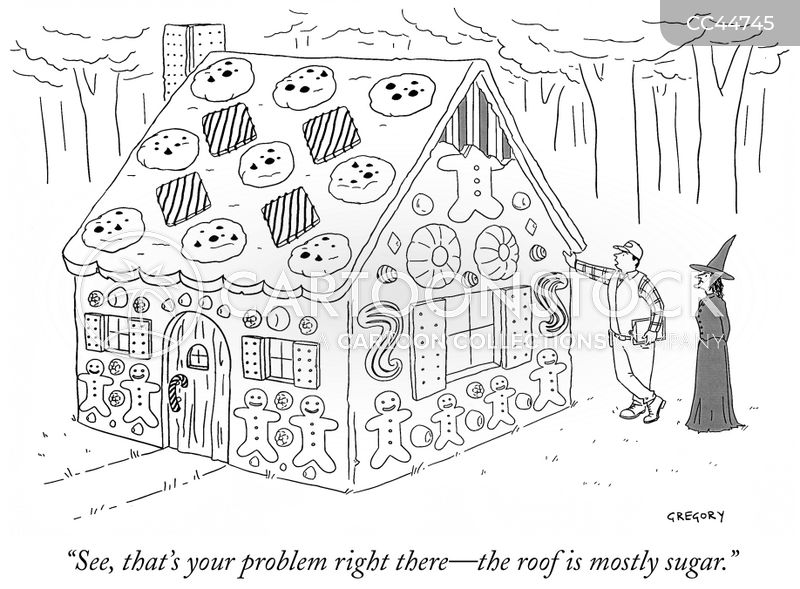 roof repair cartoon