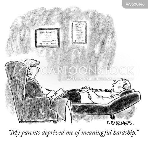 hardships cartoon
