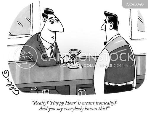 barmaids cartoon