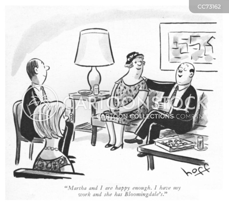 happily married cartoon