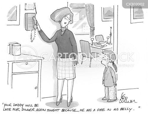 fathering cartoon