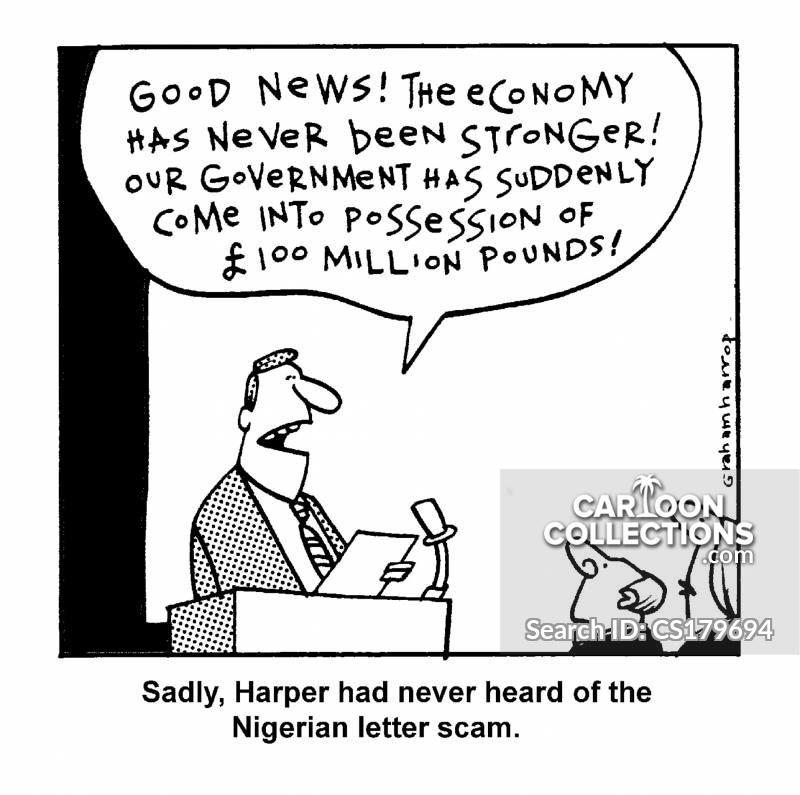 nigerian scams cartoon