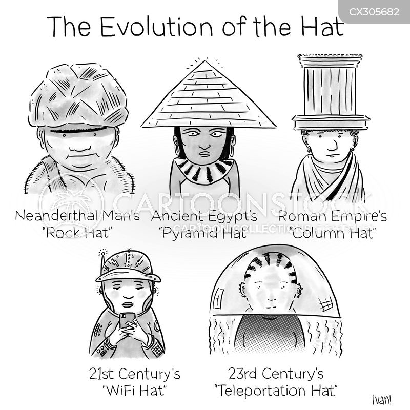 history of fashion cartoon