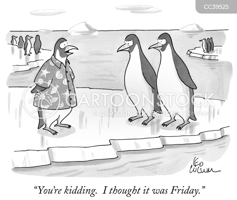Penguins cartoon