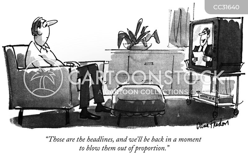 journalism cartoon