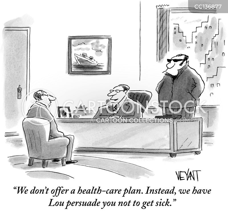 health-care plans cartoon