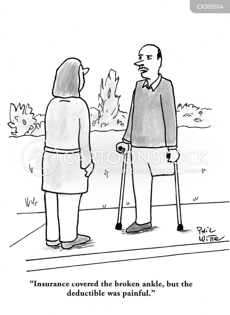 insurance claims cartoon
