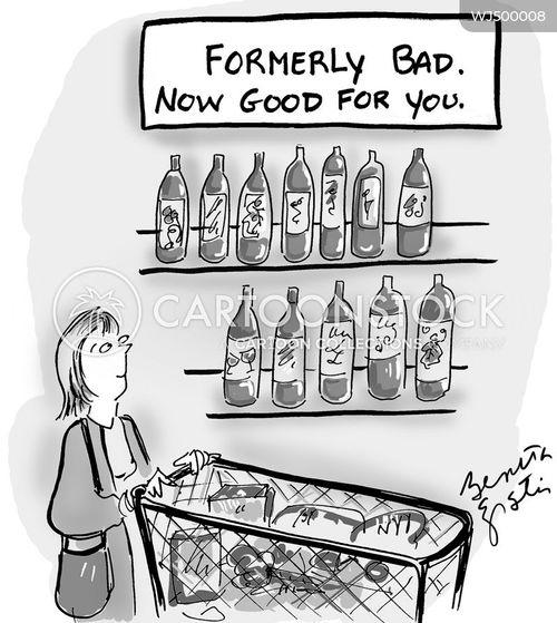 healthy living cartoon