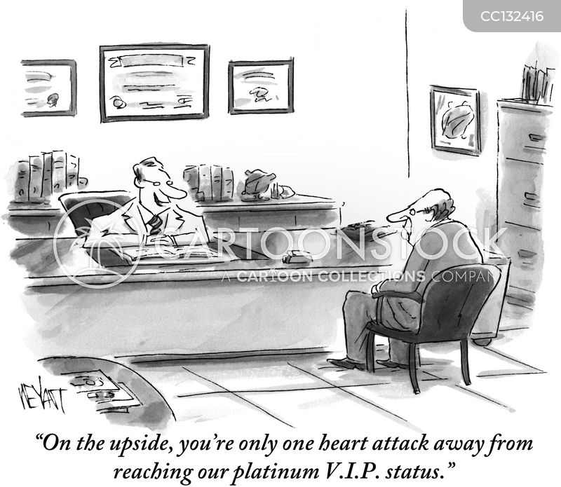 heart attacks cartoon