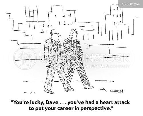 heart problem cartoon
