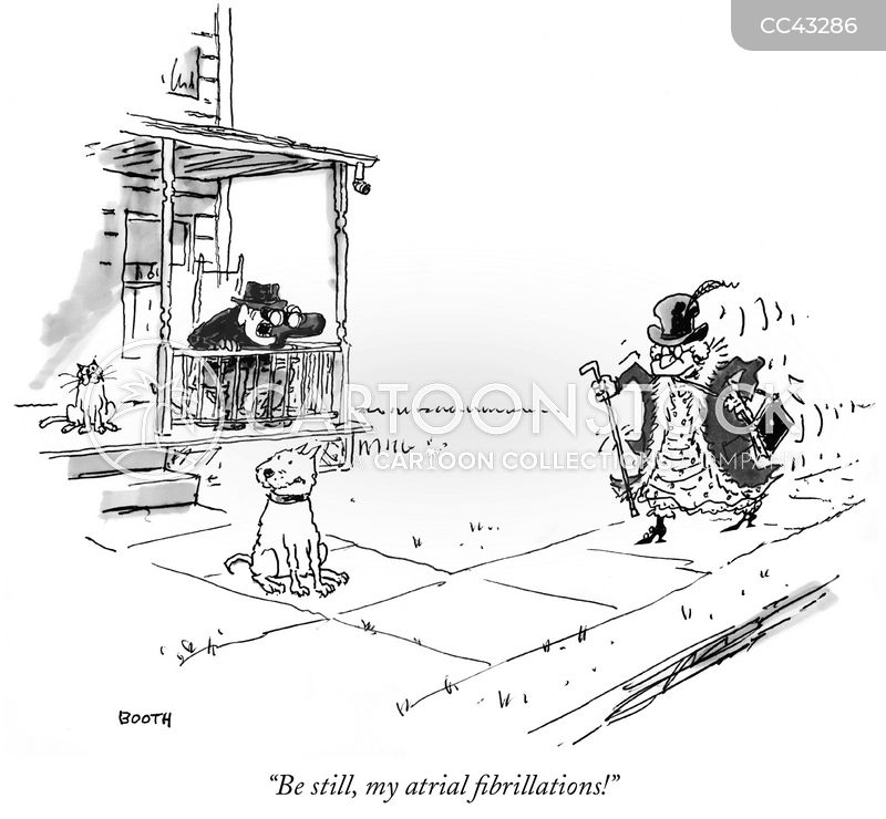 palpitation cartoon