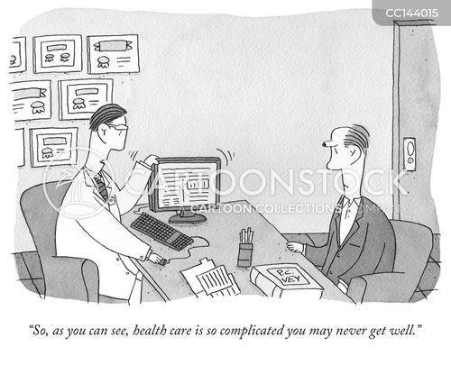 american health care cartoon