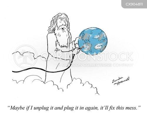 unplug cartoon