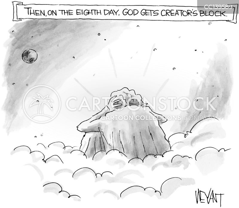creation cartoon