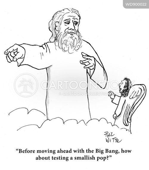 the big bang cartoon
