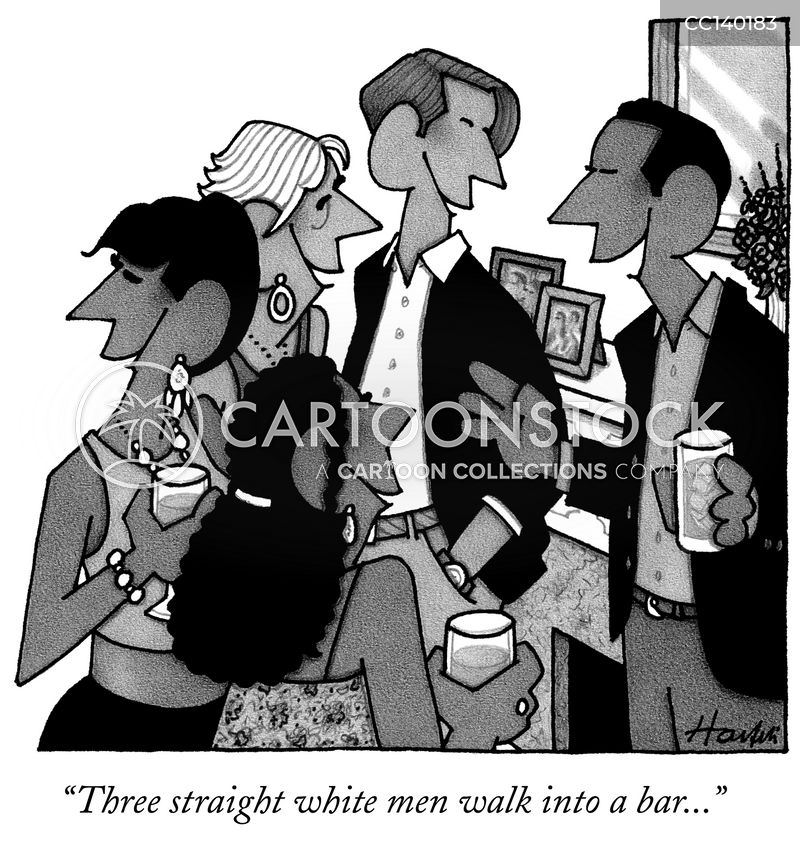 walk into a bar cartoon