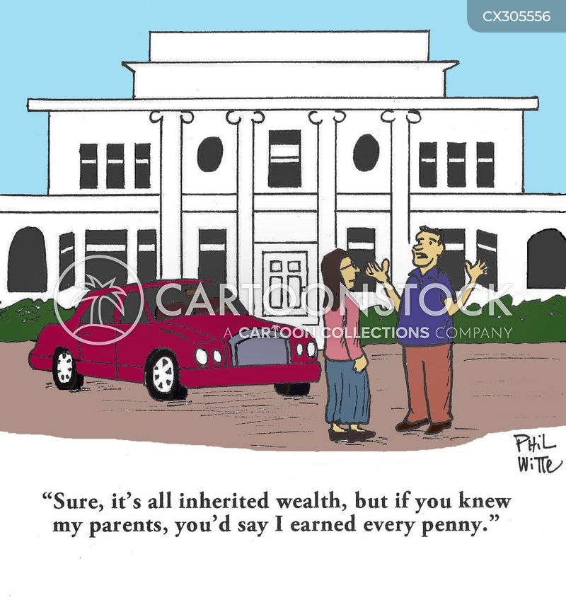 family fortune cartoon