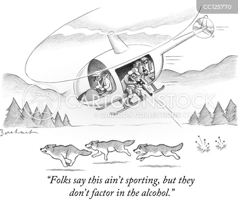 hunting laws cartoon
