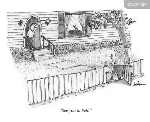 farewell cartoon