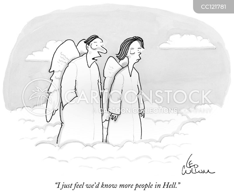 hell cartoon