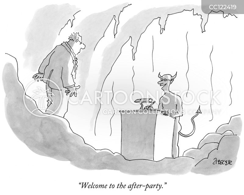 party cartoon
