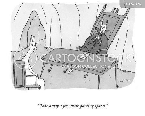 eternal punishment cartoon