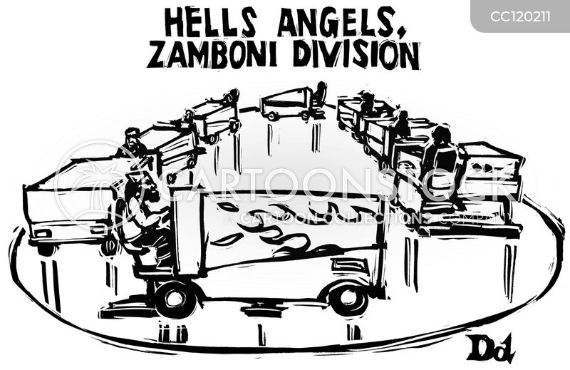 a6cb84a9c25 Hell s Angels Cartoons and Comics - funny pictures from CartoonStock