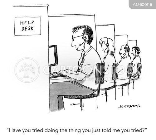 troubleshooting cartoon