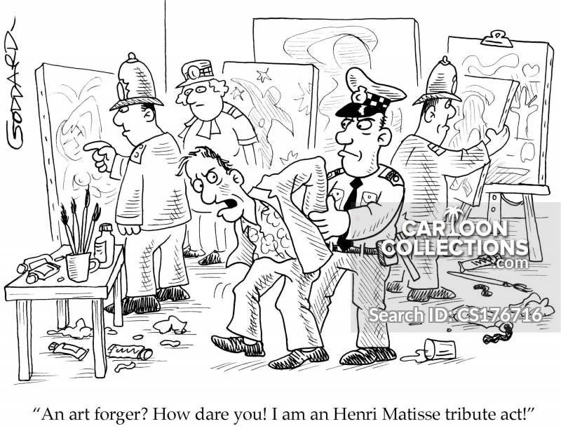 tribute acts cartoon