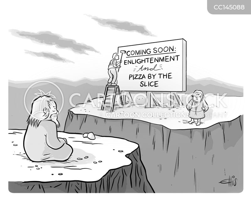 spiritual journey cartoon