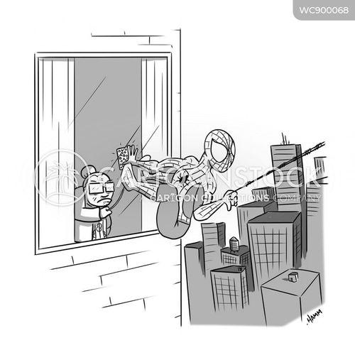heros cartoon