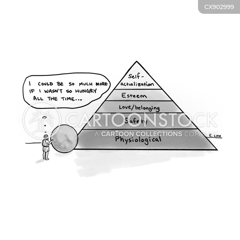 self-actualization cartoon
