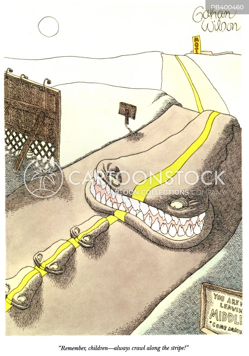 freeway cartoon