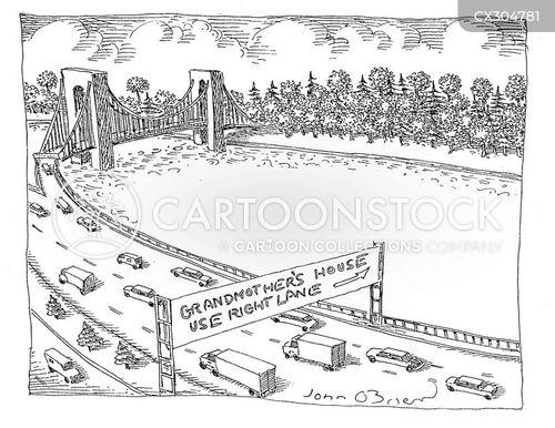 parkway cartoon
