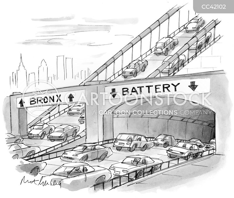 motorways cartoon