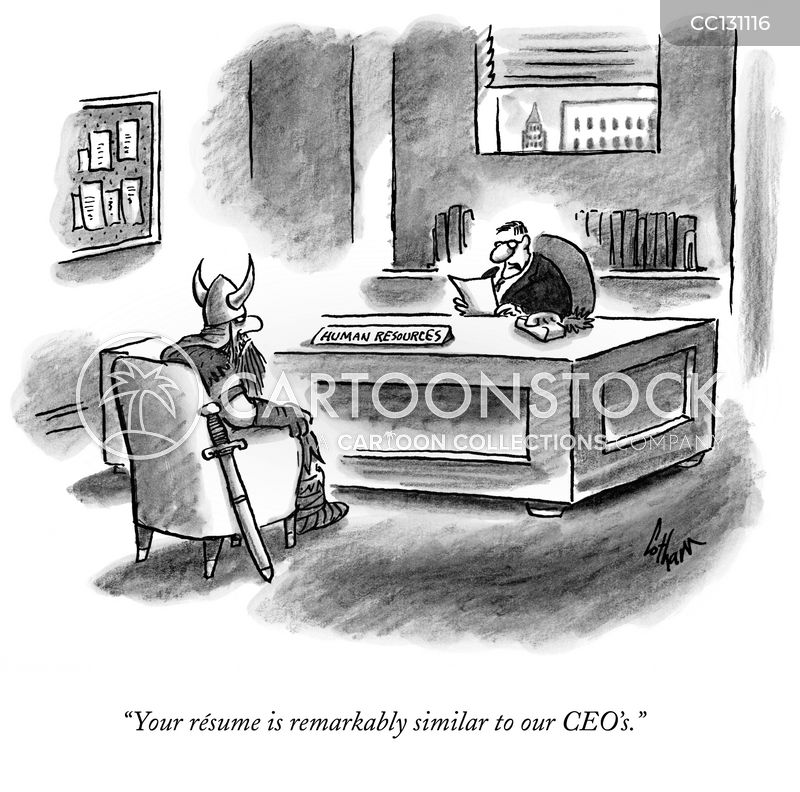 interview skills cartoon