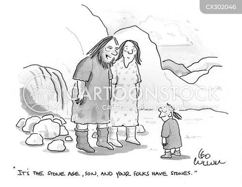 stone cartoon