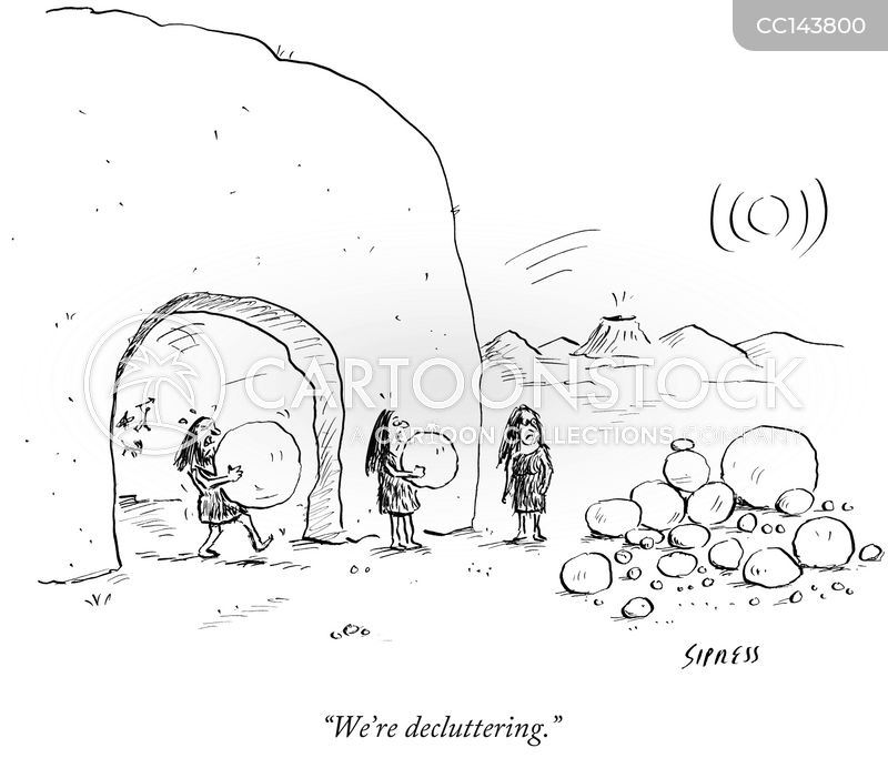 rock cartoon