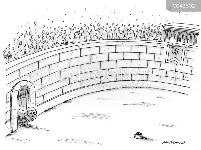 Colosseums cartoon
